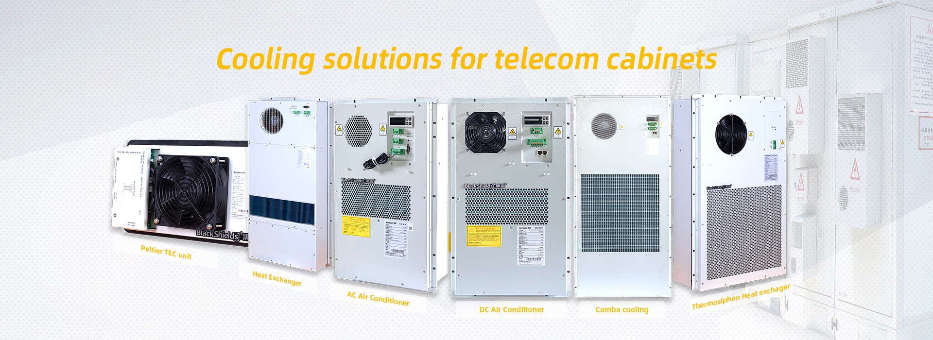 Cooling solutions for telecom cabinets