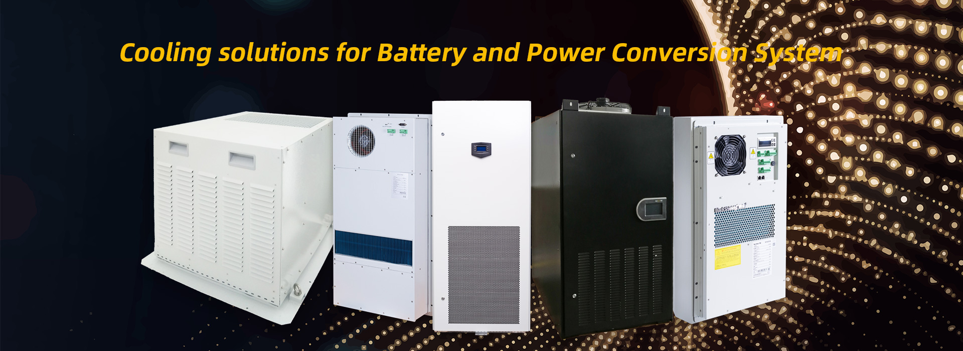 Cooling solutions for Battery and Power Conversion System